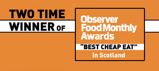 Observer Best Cheap Eats in Scotland